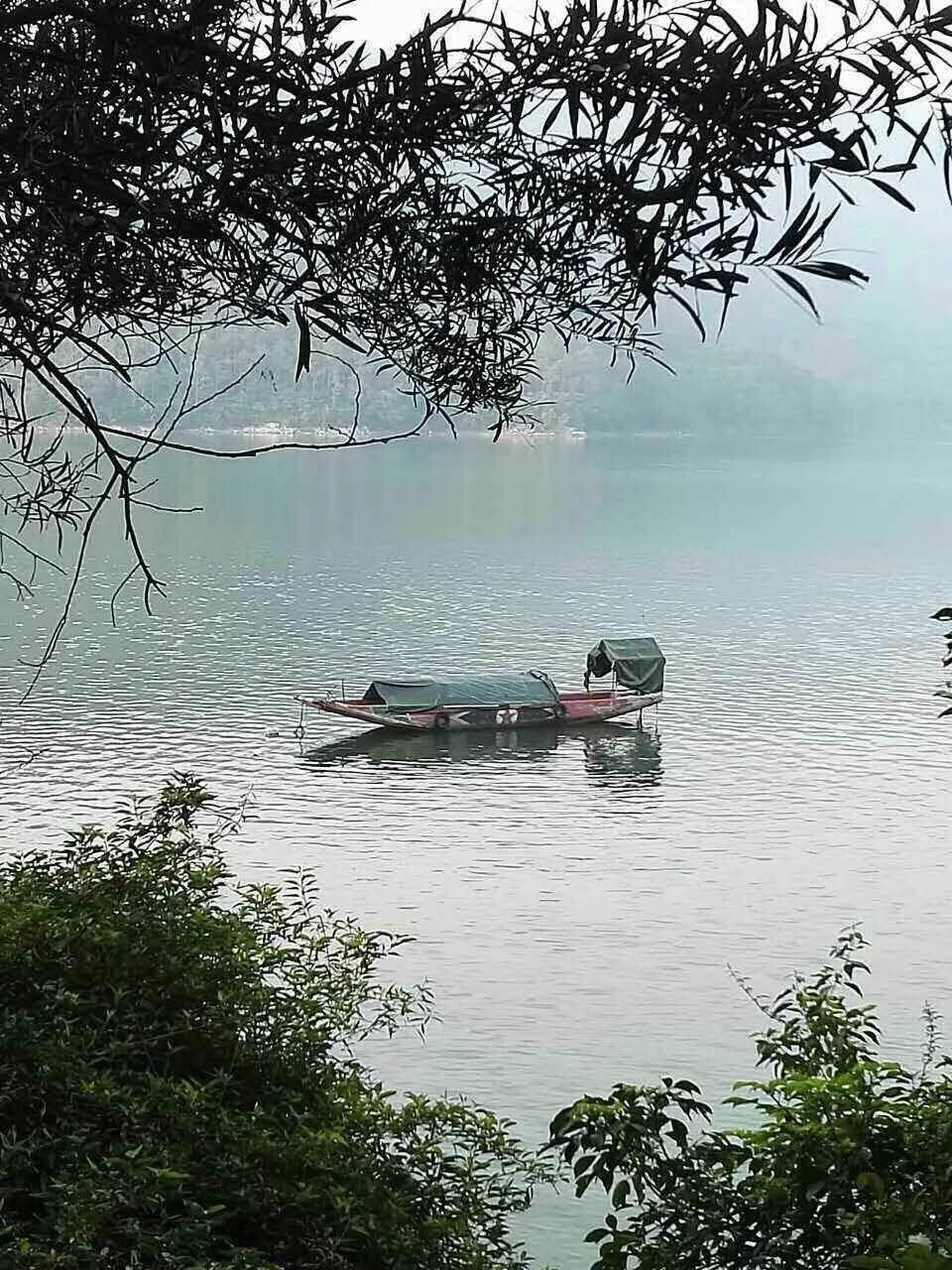石竹湖的清晨