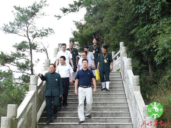 黄进发厅长赴福清调研海峡道教学院筹建工作