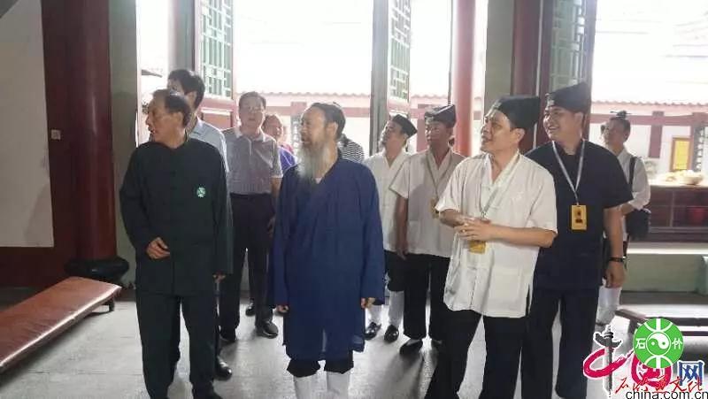 中国道教协会李光富会长一行到福建调研治理道教商业化工作