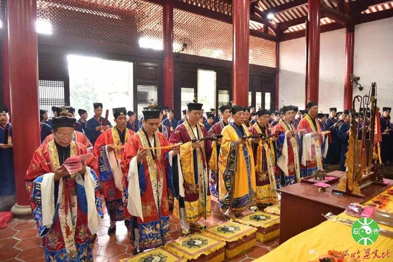 2018年福州市正一派传度仪式在石竹山道院举行